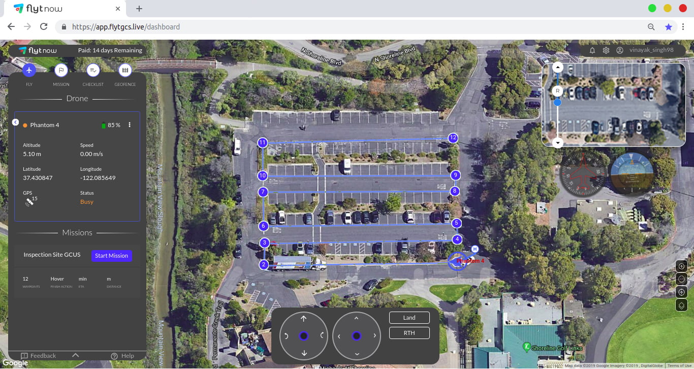 drone video streaming