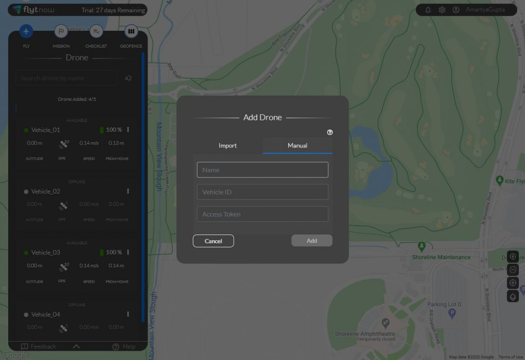 drone delivery software