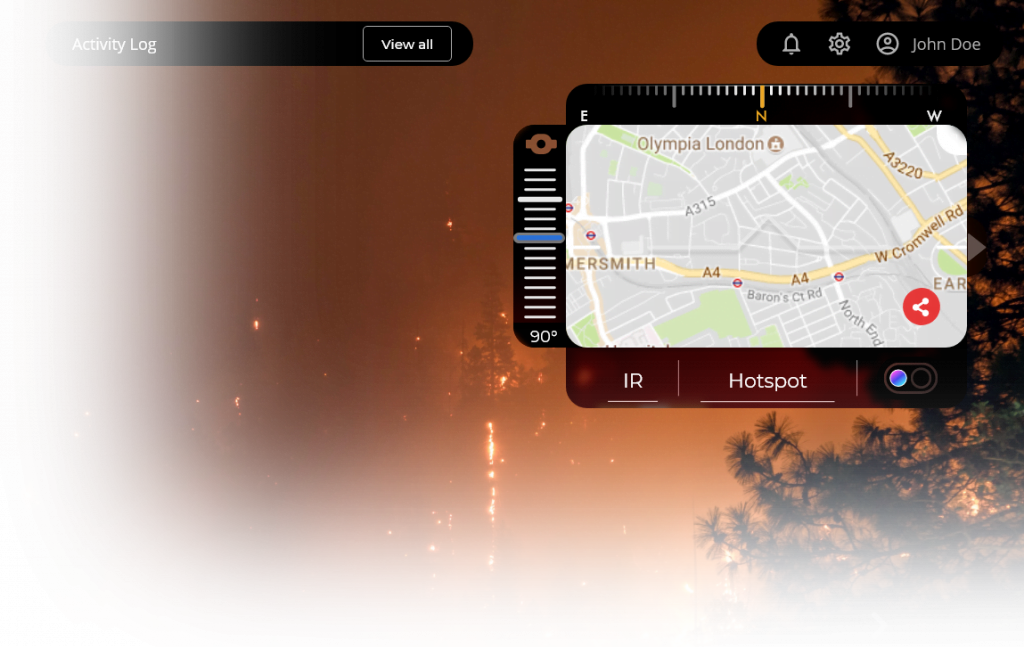 flytnow for remote firefighting operations